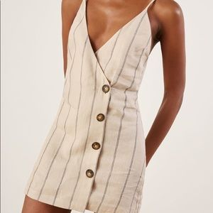 Reformation Dresses - Reformation cayman linen stripe dress